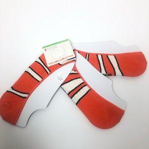 Little Missmatched Orange Nemo Socks